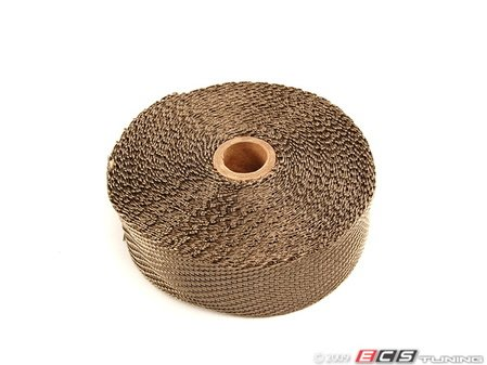 "ES#261346 - 010127 - Titanium Exhaust Wrap - 2"" X 50ft - Designed to handle temperatures up to 2800F - DEI - Audi BMW Volkswagen Mercedes Benz MINI Porsche"