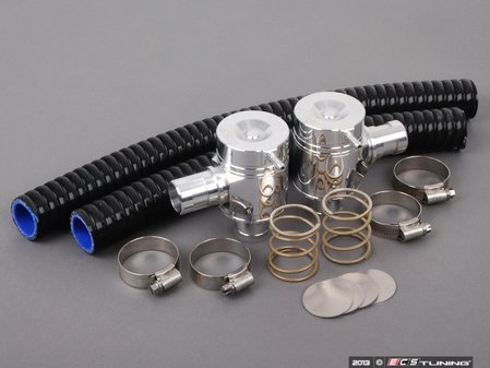 ES#205064 - FMDVBM35 - Forge Diverter Valves Kit - Machined Alloy - Specifically designed for the BMW N54 twin turbo - Forge - BMW
