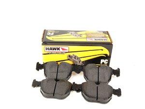 ES#240366 - HB325z.720 - Front Ceramic Compound Performance Pad Set - A premium high performance ultra-low dust low noise compound - Hawk - BMW