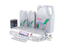 ES#2602426 - N90824401KT - Oil Pan Replacement Kit - Everything required to replace your leaking pan, including the oil change - Assembled By ECS - Audi
