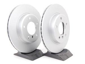 ES#11699 - 34116855152kt5 - Front Brake Rotors - Pair (300x22) - Featuring a protective Meyle Platinum coating. - Meyle - BMW