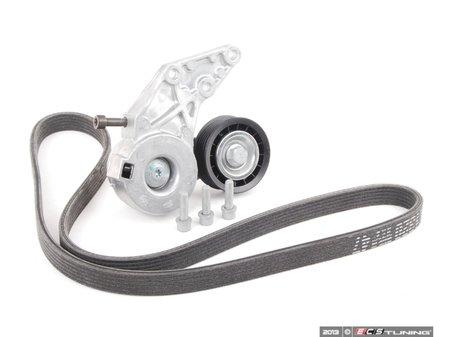 ES#2707983 - 066145933J - Accessory Belt Kit - Refresh your accessory belt drive system - Assembled By ECS - Audi Volkswagen