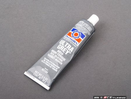 ES#2162825 - 82194 - Oil Pan Gasket Silicon Sealant - Ultra Grey (3.5oz Tube) - Designed specially for high-torque and high vibration applications - Permatex - Audi Volkswagen