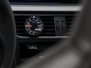ES#2713030 - 001246ECS01AKT1 - ECS Vent Pod Boost Gauge Kit - Vent-mounted digital boost gauge for B8 3.0T that looks factory installed - ECS - Audi