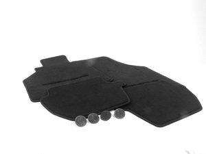 ES#1354539 - 00004480084A10 - Set Of Floor Mats - Black - Beautiful OEM Black floor mat set - Genuine Porsche - Porsche