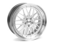 ES#2660886 - 020-1 - 18 Style 020 Wheels - Set Of Four - 18x8 ET25 5x100 - Silver with 2 machined lip - Alzor - Audi Volkswagen