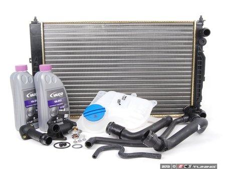 ES#2587057 - 8D0121251PKT1 - Cooling System Refresh Kit - Level 2 - This comprehensive kit eliminates weak spots in your cooling system - Assembled By ECS - Volkswagen