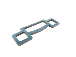 ES#175967 - 64111370937 - Heater Core Lower Housing Gasket - Attaches to the lower housing of the heater core box - Genuine BMW - BMW