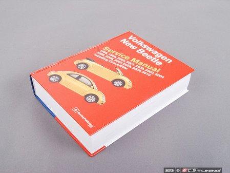 ES#2126 - VB02 - New Beetle (98-02) Factory Service Repair Manual On Paperback By Robert Bentley - Bentley - Volkswagen