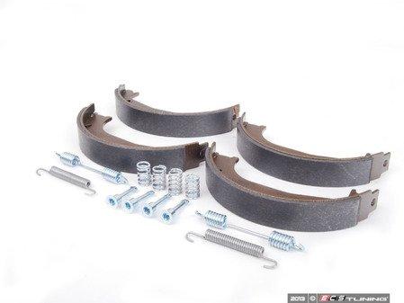 ES#2710253 - 34416761289 - Parking Brake Shoe Kit - Set of four parking brake shoes, springs, and pins - Febi - BMW