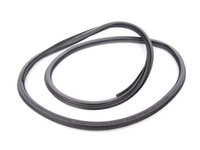 ES#459130 - 8P4831721C28P - Front Inner Door Seal - Sabre (Black) - Priced Each - Replace your noisy, leaky door seal - Fits both left and right side - Genuine Volkswagen Audi - Audi