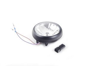 ES#515308 - 63120420300 - Driving Light Lens Housing Black - Priced Each - Part of the rally light set - Genuine MINI - MINI