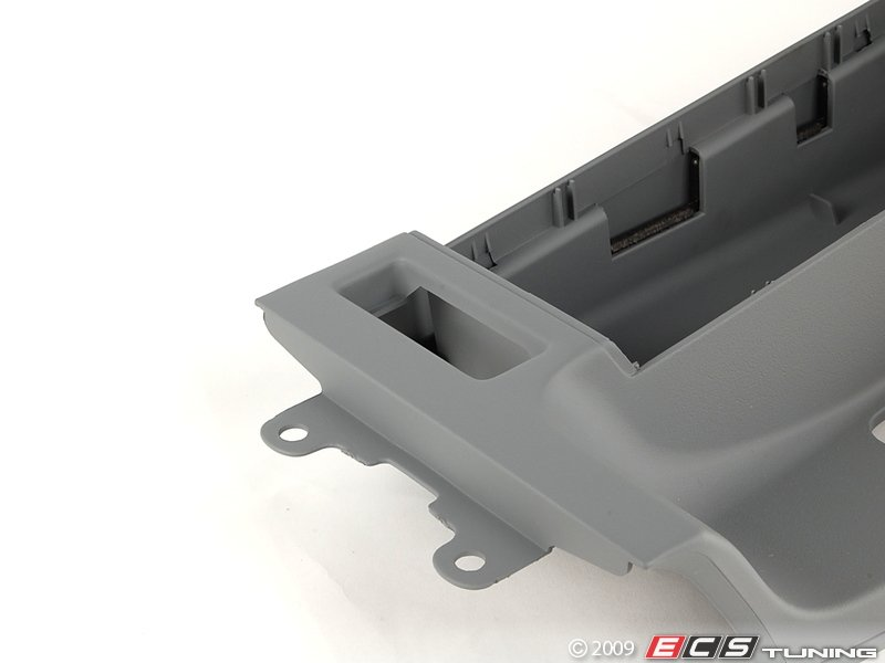 genuine bmw 51168248507 center console gray 51 16 8. Black Bedroom Furniture Sets. Home Design Ideas