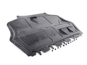 ES#2715303 - 1K0825237P - R32 Belly Pan Kit - Great OEM aerodynamic upgrade from the MK5 R32, also will help keep more debris away from your engine - Genuine Volkswagen Audi - Volkswagen