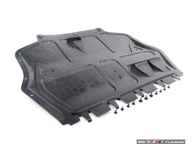 Engine Belly Pan : Genuine volkswagen audi k p r belly pan kit