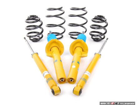 ES#2681163 - 46-000613 - B12 Pro-Kit Suspension System - Expertly matched performance Eibach Pro-line lowering springs and Bilstein shock/strut package for a dramatic increase in performance handling. World-famous Bilstein quality with a limited lifetime warranty! - Bilstein - BMW