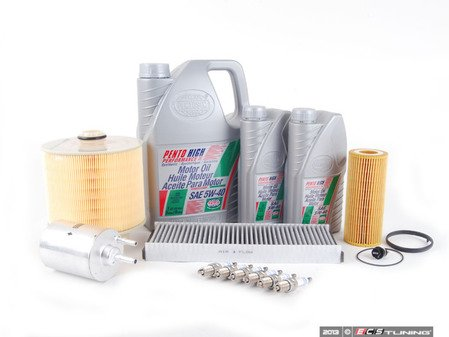 ES#2550439 - 4F0133843KT - 40k Service Kit - With ECS Magnetic Drain Plug - Everything you need to perform the recommend 40k mile service. - Assembled By ECS - Audi