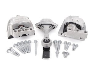 ES#2581349 - MKIVDRIVETRAINKT - ECS Ultimate Drivetrain Mount Kit - Everything you need to install your engine and transmission mounts - Assembled By ECS - Volkswagen
