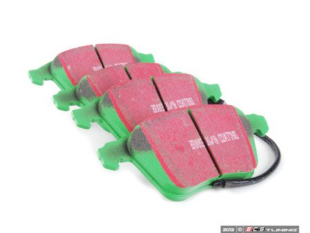 ES#519874 - DP21594 - Front GreenStuff Performance Brake Pad Set - Mildly upgraded composite pad. - EBC - Audi Volkswagen