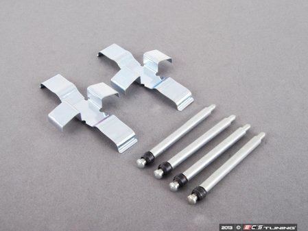 ES#2717905 - 221736102 - Brake Hardware Kit  - Contains four (4) caliper pins and two (2) anti-rattle clips - ATE -