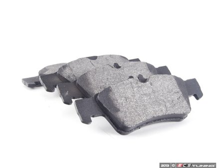 ES#2561301 - 0044204420 - Rear Brake Pad Set - Brake pads only -- Does not include new wear sensors or installation hardware - Bosch - Mercedes Benz