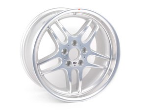 """ES#64662 - 36112229731 - 18"""" Style 37 M-Parallel Wheel - Priced Each  - 18x9.5 ET 25 CB 72.6mm. Perfect for replacing your bent or blemished Style 37. - Genuine BMW - BMW"""