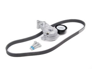 ES#2703125 - 06A145933DKT2 - Accessory Belt Kit - Keep your accessories running properly with a new tensioner and drive belt - Assembled By ECS - Volkswagen
