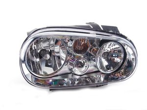 ES#261703 - 1J0941018B -  Headlight - Right - Without fog light, with clear turn signal lens - Genera - Volkswagen