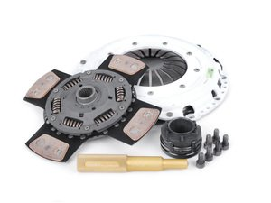 ES#2602166 - 02029HDC4KT2 - 4 Puck Clutch Kit - Stage 4 - 170% increase in holding capacity. Includes pressure plate hardware and alignment tool - Assembled By ECS - Audi