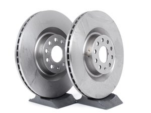 ES#253113 - 1K0615301MKT3 - Front Brake Rotors - Pair (345x30) - Restore the stopping power in your vehicle - Pilenga - Audi Volkswagen