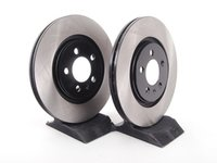 ES#2130360 - 1H0615301AKT5 - Front Brake Rotors - Pair (280x22) - Quality replacement rotors for your car - OP Parts - Volkswagen