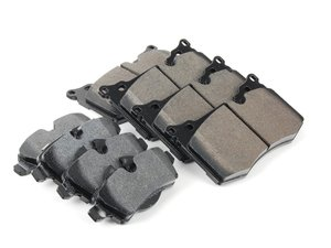 ES#2593926 - HB640F.550KT - Brake Pad Kit - Hawk HPS - JCW - Replacement brake pads to restore your stopping power : Front & Rear - Hawk - MINI