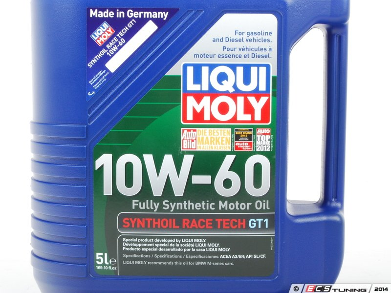Liqui Moly 2024 Liqui Moly Race Tech Gt1 10w 60 Engine