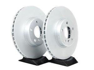 ES#2215256 - 34116794300 - Front Brake Rotors - Pair (332x30) - Factory replacement rotors - Genuine BMW - BMW