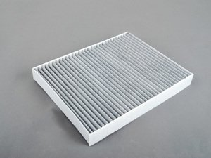 ES#252028 - 8-CAF145CD - Charcoal Lined Cabin Filter / Fresh Air Filter - Filter the air coming into your vehicle. - NPN - Audi Volkswagen