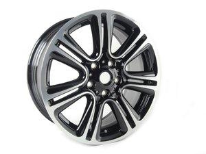 "ES#2637208 - 36109808516 - R135 MINI JCW Wheel 18"" (5x120) Twin Spoke Gloss Black - Priced Each - 18 x 7.5J ET:52 - Genuine MINI - MINI"
