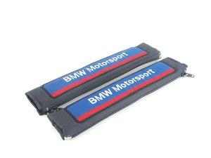 "ES#186209 - 72117742128 - ""BMW Motorsport"" Seat Belt Pad Set - Make wearing your seat belt more comfortable - Genuine BMW Motorsport - BMW"