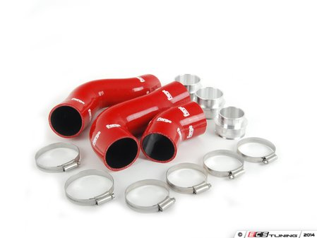 ES#1832530 - FMKT010R - Boost Hose Kit - Red - Includes all required couplers and clamps - Forge - Audi Volkswagen
