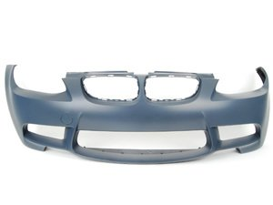 ES#2643153 - E9XM3FTREP - European Front Bumper - Don't cover up unsightly amber corner markers - eliminate them completely! - ECS - BMW