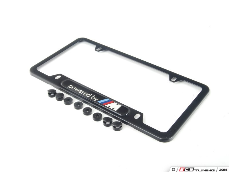 es2644046 82112348414 powered by m license plate frame