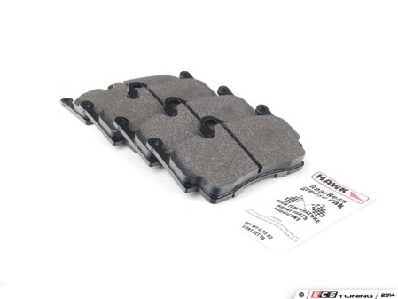 ES#2586306 - HB665F.577 - Hawk HPS Brake Pad Set - Composite compound, one of the best selling all-around pads - Hawk - Porsche