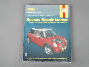 ES#2713479 - 67020 - Haynes Repair Manual - MINI R50 - R57 (2002-2011) - Based on a complete teardown and rebuild - Haynes - MINI