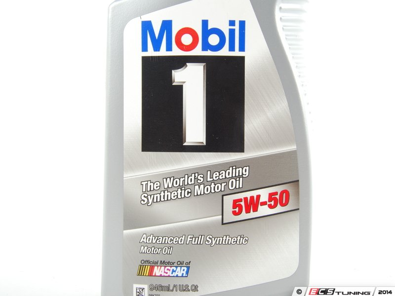 6 quart mobil 1 full synthetic oil change with genuine for 5w 50 synthetic motor oil