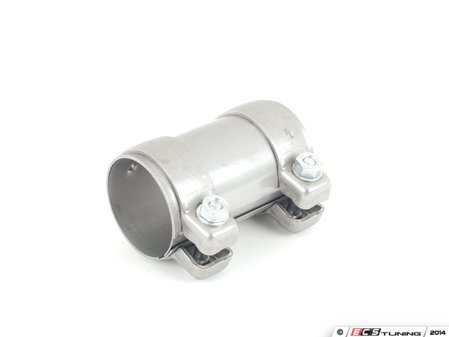 ES#5949 - 8l9253139a - Exhaust Sleeve With Dual Clamps - Priced Each - Quiet down your leaking exhaust. 65mm - Genuine Volkswagen Audi - Audi Volkswagen