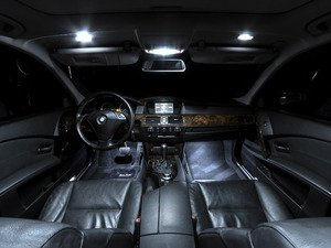 ES#2207836 - E60LEDINTER - Master LED Interior Lighting Kit - Transform your complete interior in minutes with new LED interior bulbs from Ziza - ZiZa - BMW