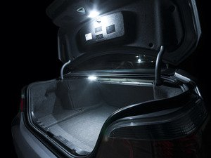 ES#2538740 - E60LEDTRUNK - LED Trunk Lighting Kit - Illuminate the lighting in your trunk or hatch with new LED bulbs from Ziza - ZiZa - BMW