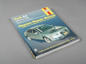 ES#2713504 - 15030 - Haynes Repair Manual - B6/B7 (2002-2008) Audi A4 - Based on a complete teardown and rebuild - Haynes - Audi