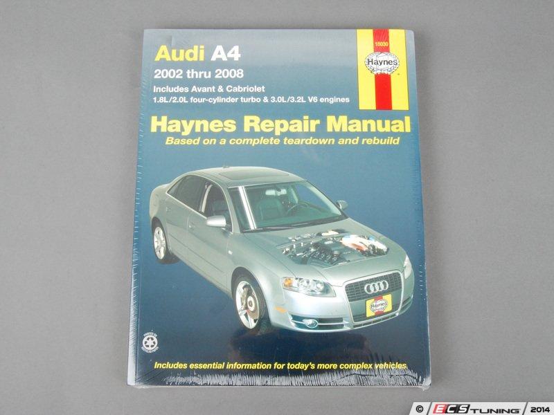 haynes 15030 haynes repair manual b6  b7  2002 2008  audi a4 audi a4 b7 workshop manual free download audi a4 b7 service manual download