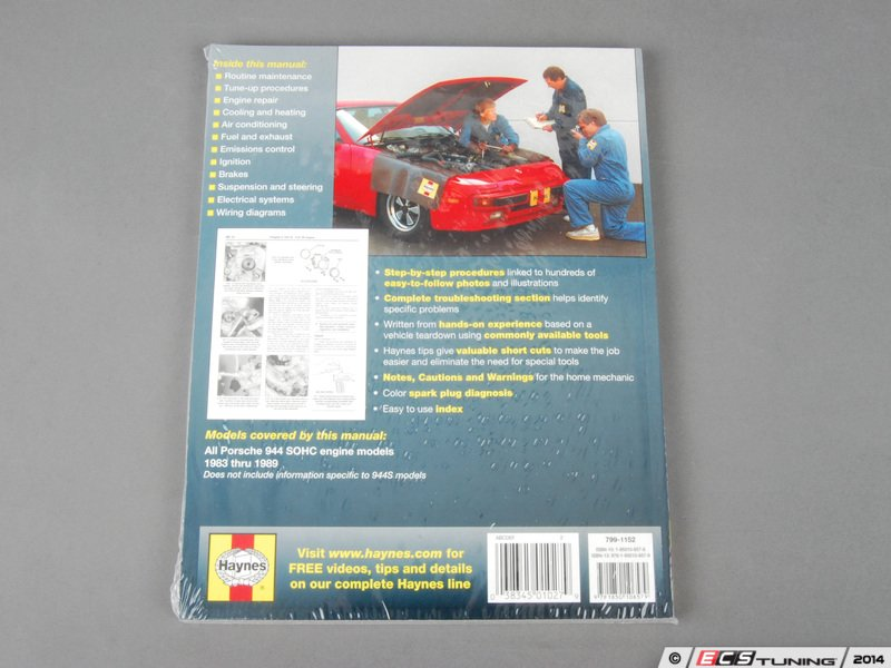 ecs news porsche 944 haynes repair manual. Black Bedroom Furniture Sets. Home Design Ideas