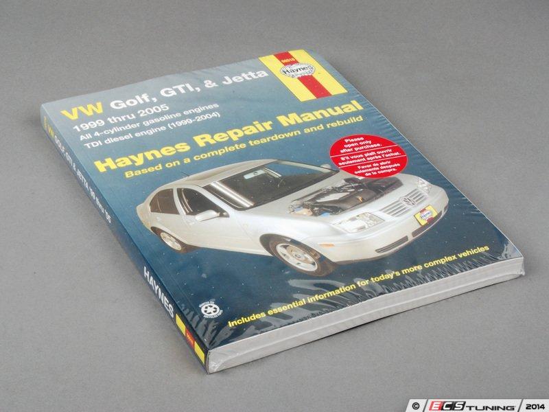 vw golf mk4 workshop manual